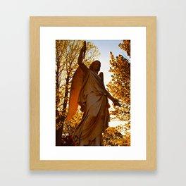 Golden Spring Framed Art Print