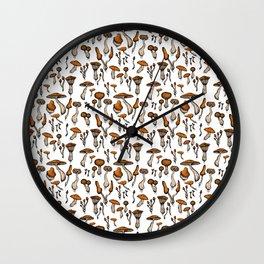 Mushroom Addiction Wall Clock