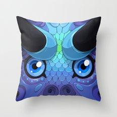 Lady Grey Throw Pillow