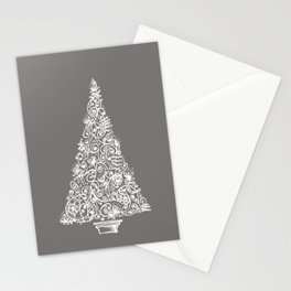 A Christmas tree in New Zealand Stationery Cards