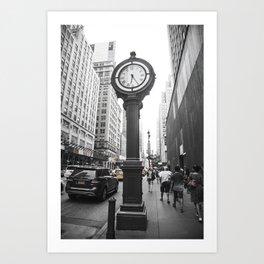 NY Streets Art Print