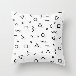 Doodle Pattern! Throw Pillow