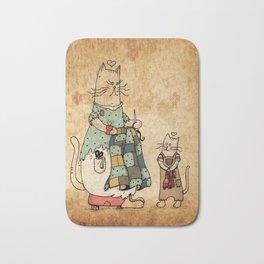 Raggedy Cats-New Lovie Bath Mat