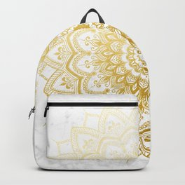Pleasure Gold Backpack