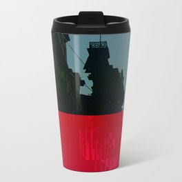Trieste Glitch 01 Travel Mug