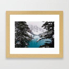 Moraine Lake Framed Art Print