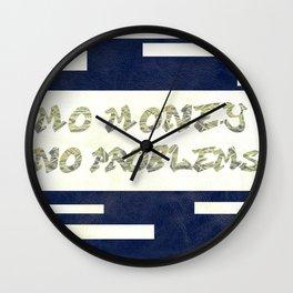 MO $ Wall Clock