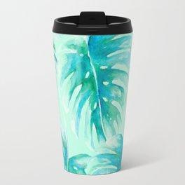 Paradise Palms Mint Travel Mug