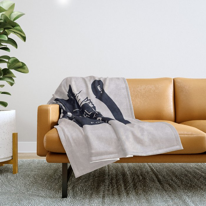 World Domination For Cats Throw Blanket