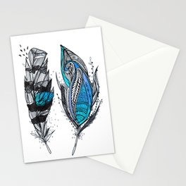 Bluish Stationery Cards