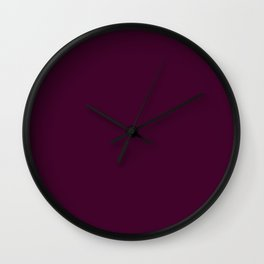 Palette .BlackBerry Wall Clock