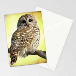She sees right into the heart of me Stationery Cards