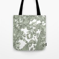leaf Tote Bags featuring Leaf  by Maethawee Chiraphong