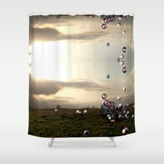 The North 2 Shower Curtain