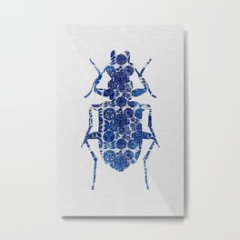 Blue Beetle II Metal Print