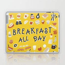 Breakfast all day Laptop & iPad Skin