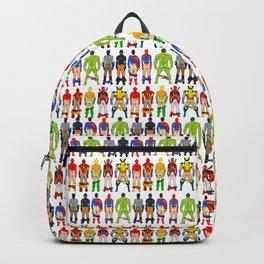 Superhero Butts Crack Smack Backpack