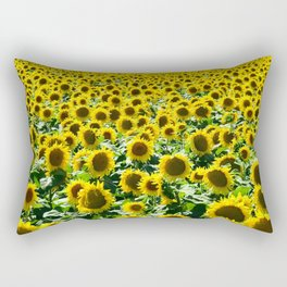 Sunflwers Rectangular Pillow