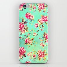 Vintage Flowers XLIII - for iphone iPhone & iPod Skin