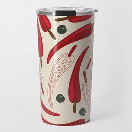 Hot chilli pattern design Travel Mug