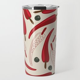 Hot chilli pattern design Travel Mug