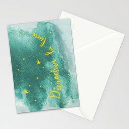 Blue moonlight Stationery Cards