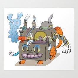 The Novelty Machine Art Print
