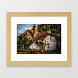 A Chiltern Cottage Framed Art Print