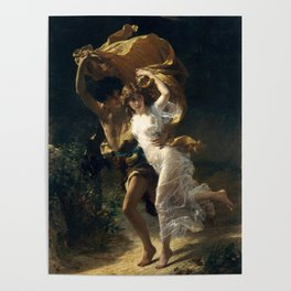The Storm, 1880 by Pierre Auguste Cot Poster
