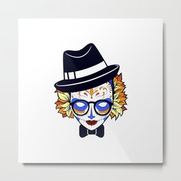 Mad Hatter Sugar Metal Print