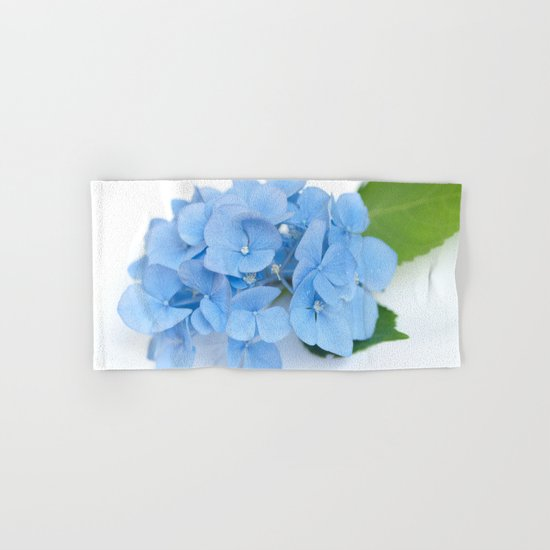 Blue Hydrangeas #1 #decor #art #society6 Hand & Bath Towel