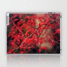 Woodland Red Laptop & iPad Skin
