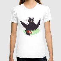 toothless T-shirts featuring Toothless by Flora