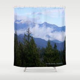 Trinity Alps in Trinity County, California Shower Curtain