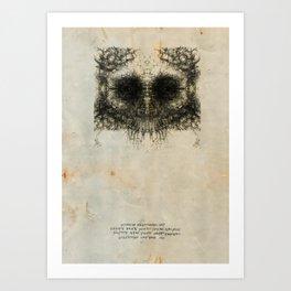 Skulloid II Art Print