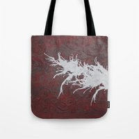 hero Tote Bags featuring Hero by Maddy Knuth