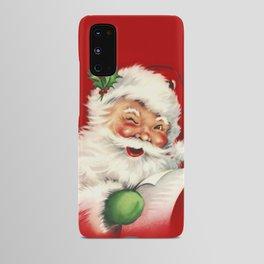 Vintage Santa Android Case