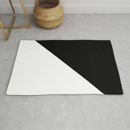 WHITE\BLACK Rug
