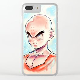 Ultra Instinct Monk Clear iPhone Case