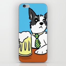 Dex Drinkin' iPhone Skin