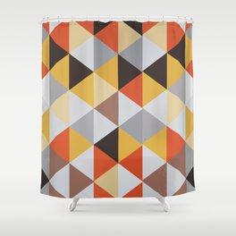 Jacquard rombs Shower Curtain
