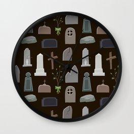 Graveyard Wall Clock