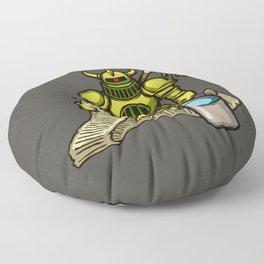 Bucket Knight Floor Pillow