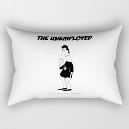 The Unemployed - Sam Rectangular Pillow