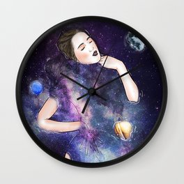 Somewhere in a peaceful mind. Wall Clock