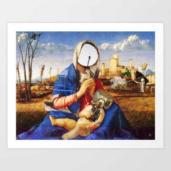 My Modern Madonna Art Print