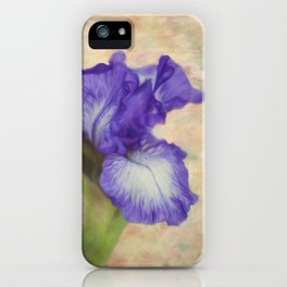 The Meaning Of An Iris - Flower Art iPhone Case