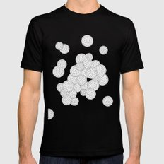 Bubbly Black Mens Fitted Tee MEDIUM