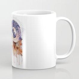 Bighorn Sheep watercolor portrait Coffee Mug