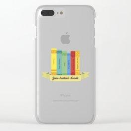 The Jane Austen's Novels III Clear iPhone Case